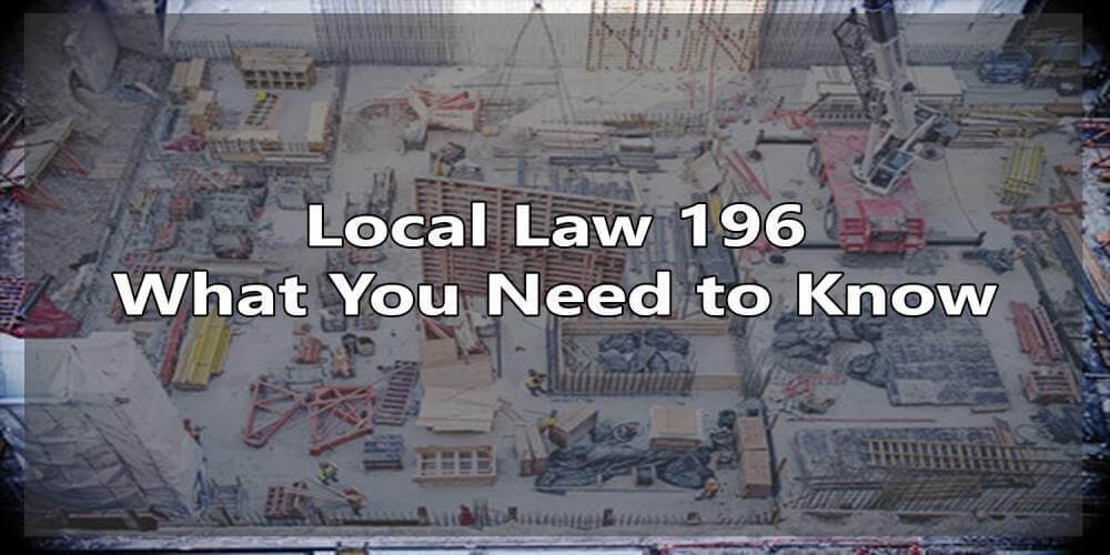 sst, local law 196, site safety, site safety training, nyc dob, construction training, SST card