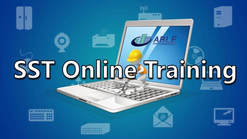 online sst training, sst courses online, online site safety courses, site safety course online, site safety class online