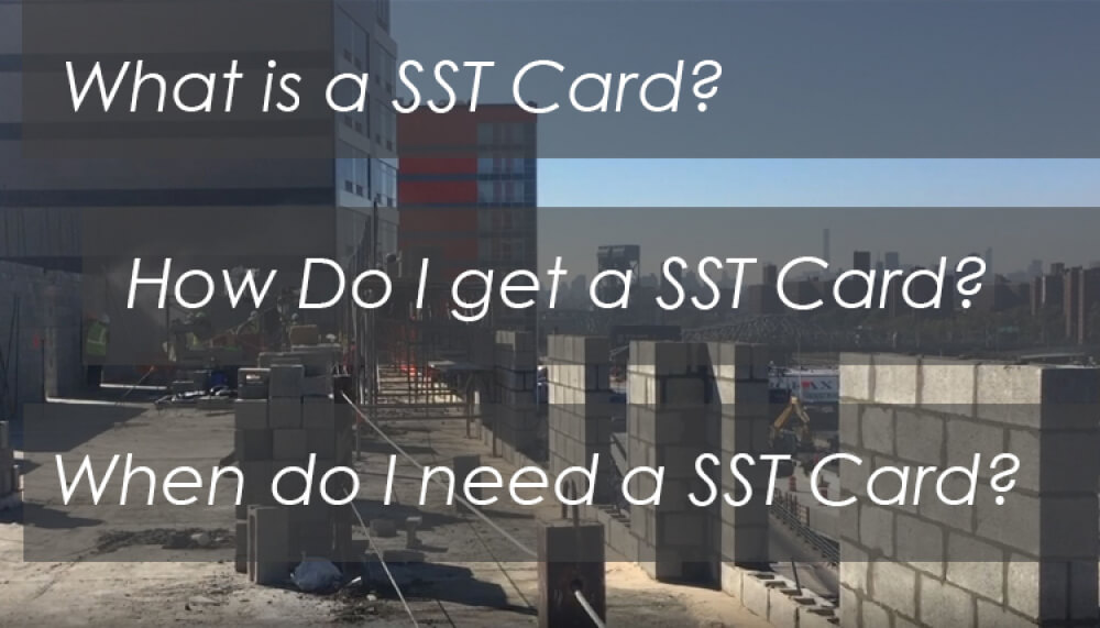 sst card, what is a SST Card, site safety training card, NYC DOB SST Card, OSHA CArd