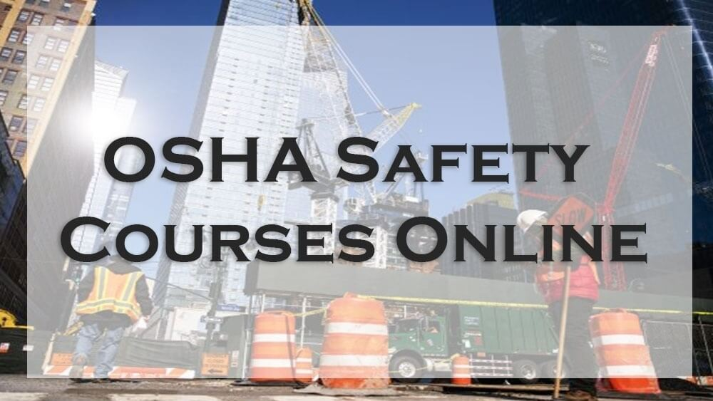 construction safety courses, osha safety course, drug and alcohol awareness classes online, epa lead paint certification classes, epa lead paint certification renewal