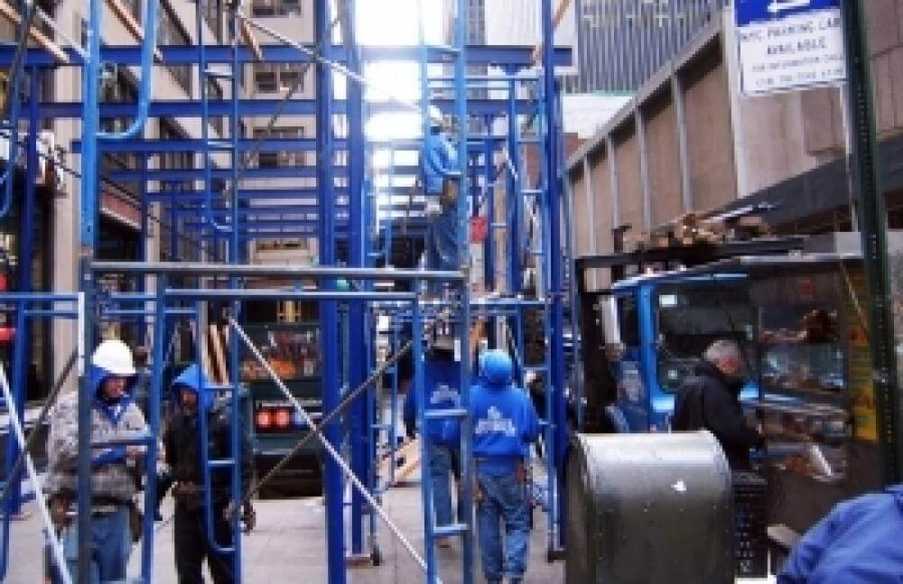 Scaffold Training