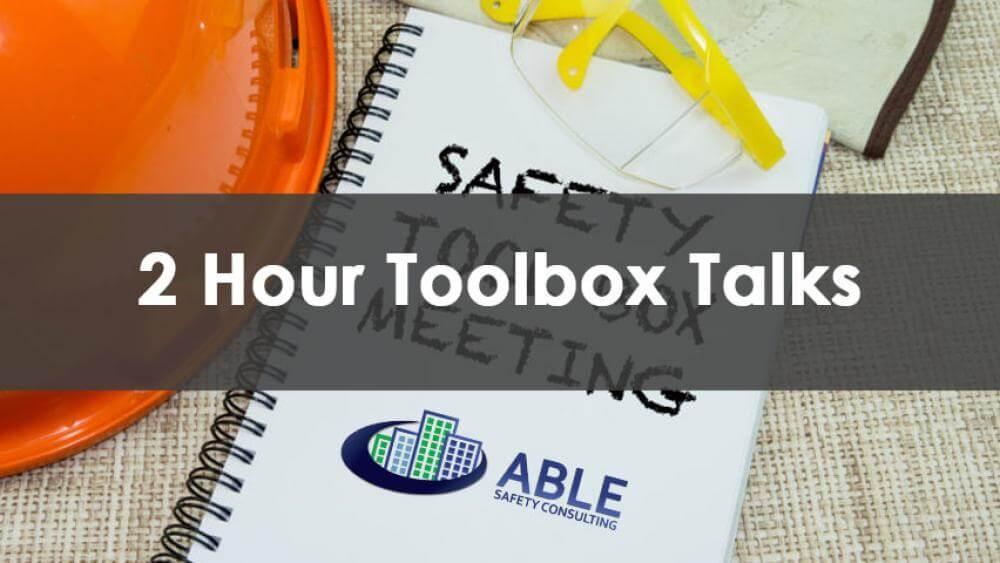 toolbox talks training, toolbox talks, dob training, sst training, prescribed courses