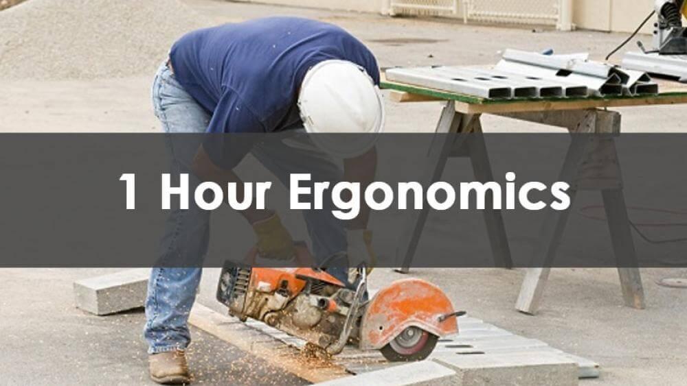 ergonomics training, dob, sst, site safety training, construction ergonomics