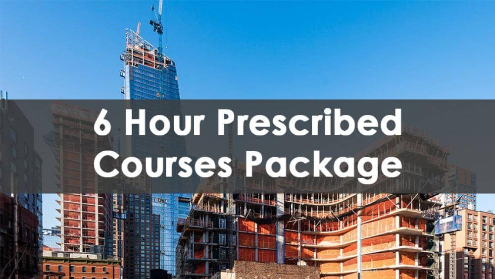6 Hour SST Prescribed Courses Package