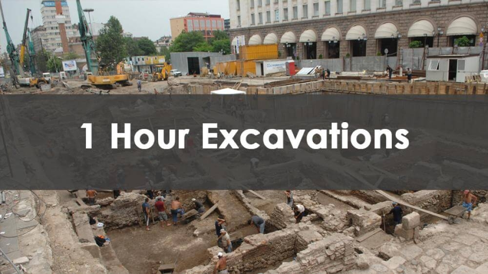 1 Hour Excavations