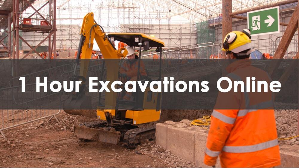1 Hour Excavations (Online)