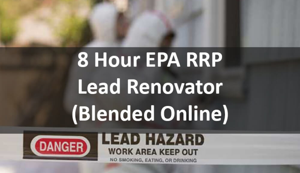EPA Lead Paint Certification Online Training Course
