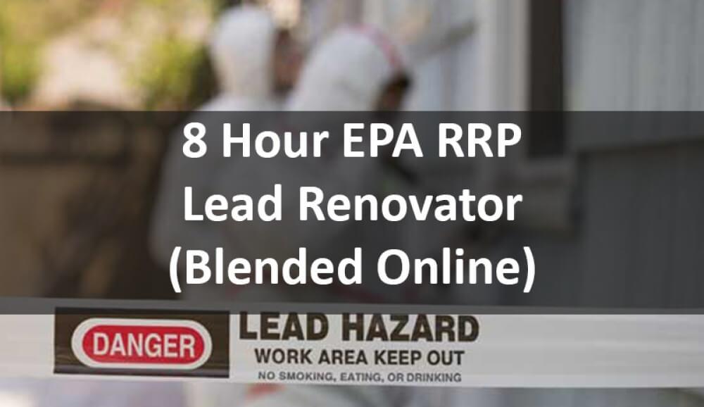 EPA Lead Paint Certification Online Training Course