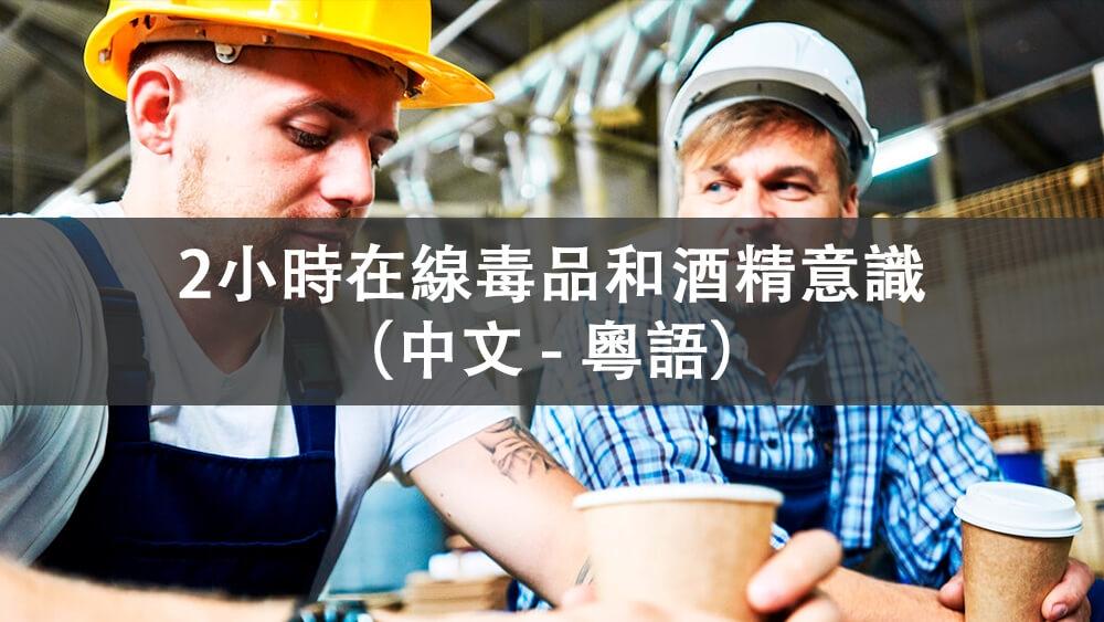 2小时毒品和酒精意识 (线上 -  广东话) - 中文