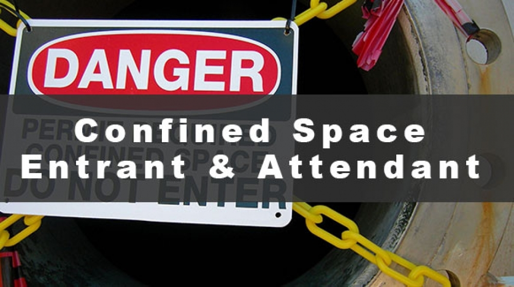 Confined Space Entrant and Attendant