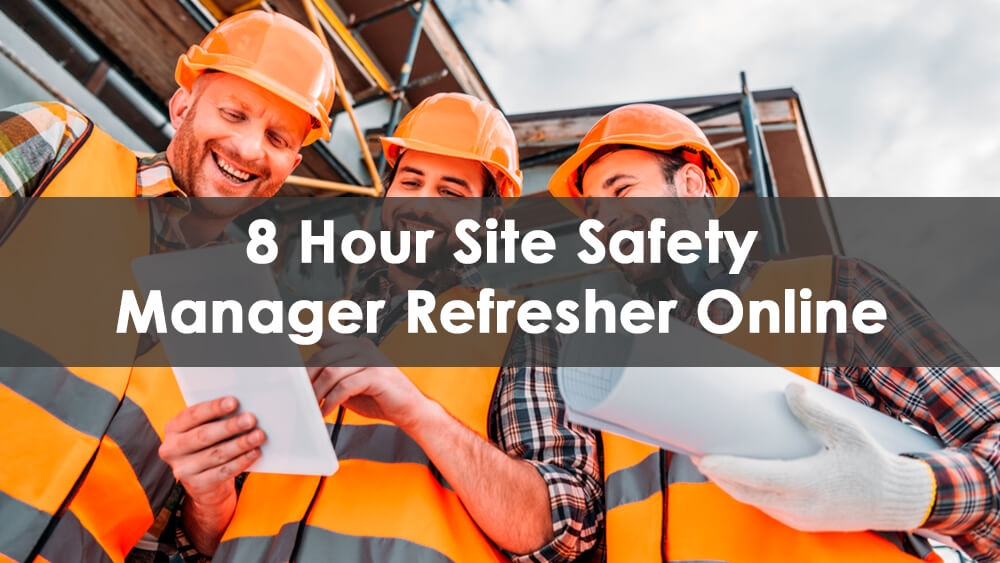 Site Safety Manager Refresher Course NYC Online