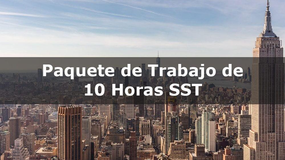 Curso de capacitación en línea de 10 horas de SST DOB para trabajadores