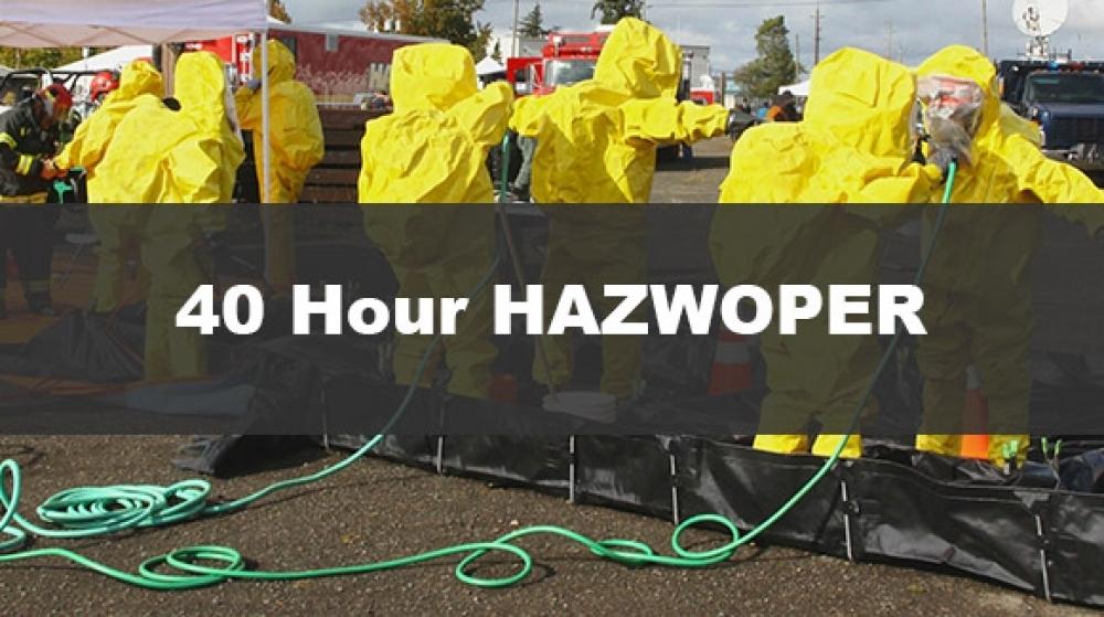 40 hour hazwoper training