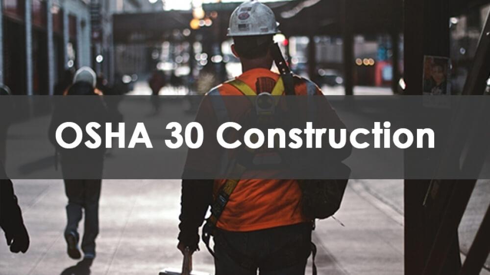 OSHA 30 Training Course