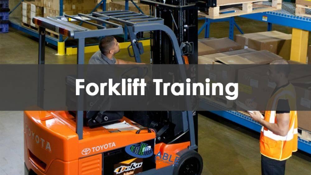 forklift, forklift training, forklift certificate