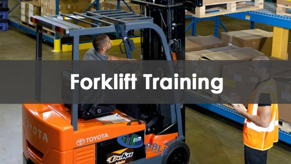 4 Hour Forklift Training Course Near You Course Available At Able Safety Consulting.